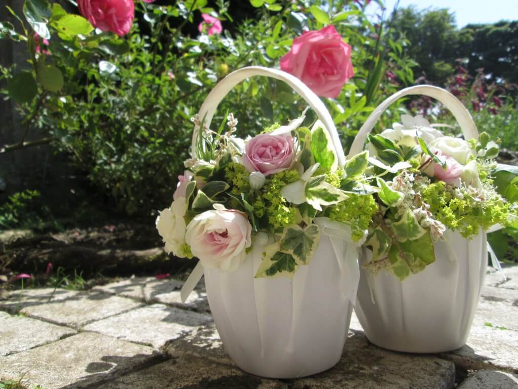 Flower girls baskets